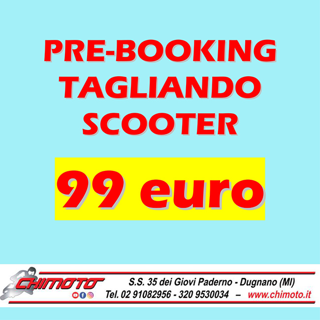 TAGLIANDO A 99 EURO