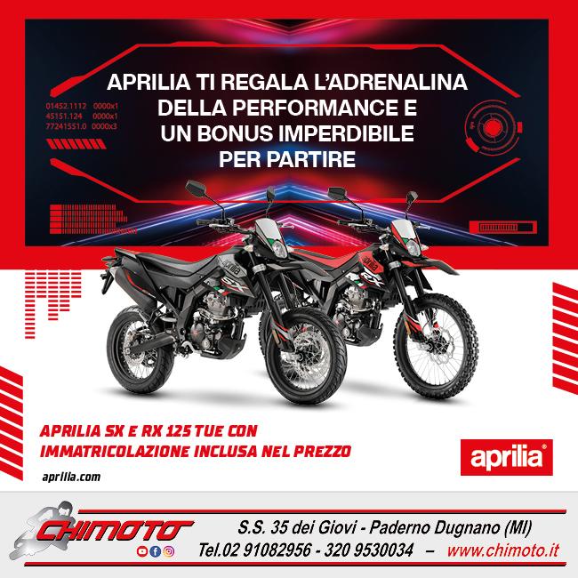 APRILIA SX RX 125